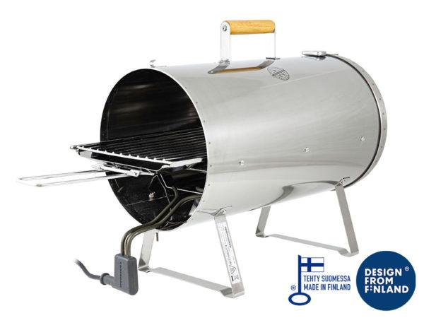 Muurikka Electric Smoking Oven 1100W Meat and Fish Smoker for outdoor
